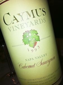 Caymus Cabernet, 1995 (100 von 1)