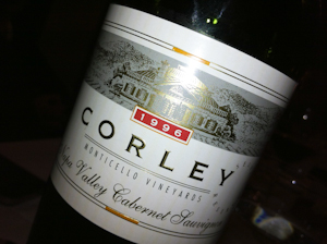Corley Cabernet Reserve, 1996 (100 von 1)