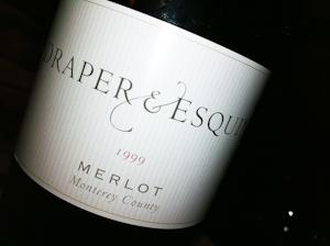 Draper Merlot, 1999 (100 von 1)