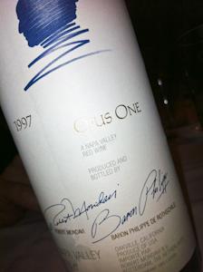 Opus One, 1997 (100 von 1)