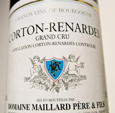 Maillard Corton-Renardes Grand Cru, 2006 (100 von 1)
