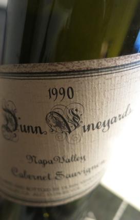 Dunn Cabernet Sauvignin Napa Valley. 1990 (1 von 1)